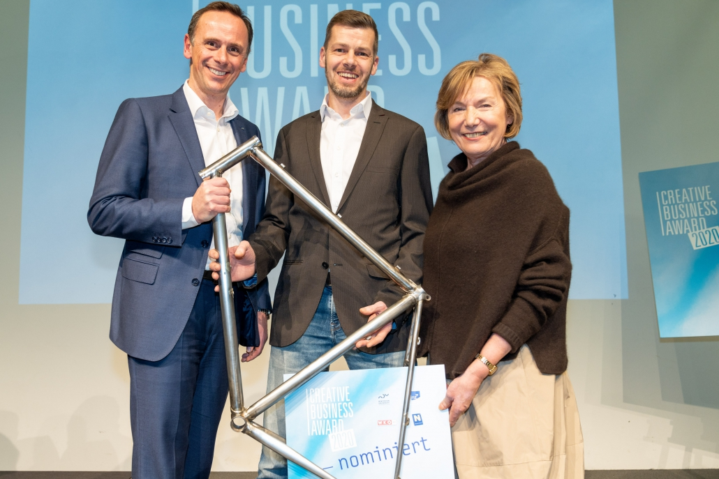Michael Eigl was nominated for the Creativ Business Award 2020.